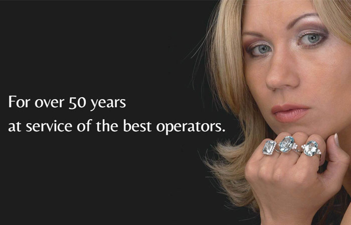 For over 50 years at service of the best operators